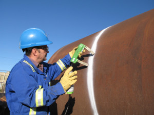 NDT Magnetic Particle Inspection